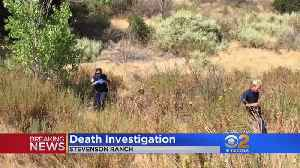 Badly-Decomposed Body Found In Stevenson Ranch [Video]