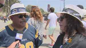 Fan-Tastic: Rams Take On The Raiders And Only 1 Group Leaves Happy [Video]