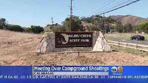 Community Meeting Over Campground Shootings [Video]