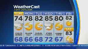 Temps Looking Cooler For The Start Of The Week [Video]
