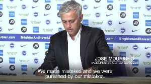 Mourinho: Brighton deserved to win [Video]