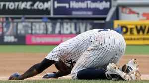 Yankees Shortstop Didi Gregorius Injures Heel in Collision [Video]