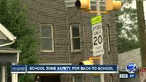 Denver Police reminds drivers of school zone safety during back-to-school week [Video]