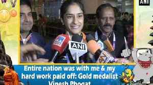 Entire nation was with me & my hard work paid off: Gold medalist Vinesh Phogat [Video]