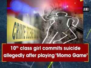 10th class girl commits suicide allegedly after playing 'Momo Game' [Video]
