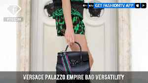 Versace Palazzo Empire Bag Versatility Black Leather | FashionTV | FTV [Video]