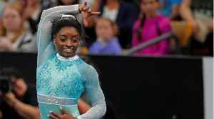 Simone Biles Stands With Survivors In Her Return To Gymnastics [Video]