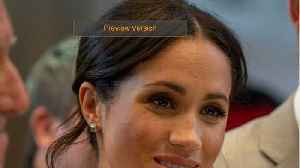 Meghan Markle Travels Solo To Toronto [Video]