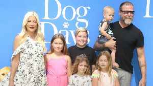 Tori Spelling Shows Off Toned Abs One Year After Welcoming Fifth Child [Video]