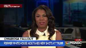 Omarosa Accuses Pres. Trump Of Wanting To Start A Race War [Video]