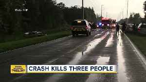 Three people killed in accident in Zephyrhills [Video]