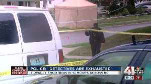 Kansas City police work 3 homicides in 24 hours [Video]