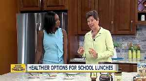 Nutritionist offers tips on packing healthier treats for schoolchildren [Video]
