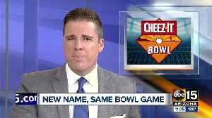 Cactus Bowl renamed Cheez-It Bowl, will be played at Chase Field after Christmas [Video]