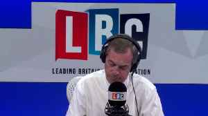 Nigel Farage's Fiery Row With Remainer Over People's Vote [Video]