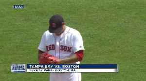 Tampa Bay Rays combine on 2-hitter to blank Boston Red Sox 2-0 [Video]
