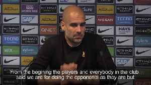 Pep Guardiola says Man City documentary was not disrespectful [Video]