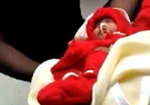 Indian Coast Guard Rescues 10-Day-Old Baby From Flooded House [Video]