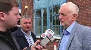 """Jeremy Corbyn Says A No-Deal Brexit Would Be """"Unacceptable"""" [Video]"""