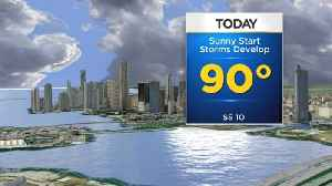 CBSMiami.com Weather 8/20 9AM [Video]