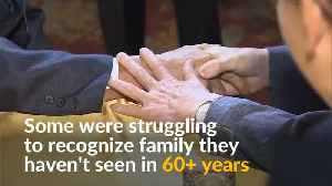 Tears and joy at reunion of Korean families separated by war [Video]
