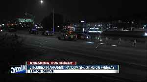 2 injured after shooting on SR-94 [Video]
