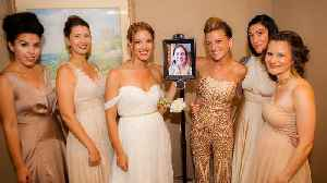 Maid of Honor Attends Sister's Wedding as Robot After Giving Birth [Video]