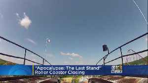 Six Flags America Shutting Down Major Roller Coaster [Video]