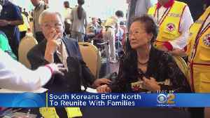 South Koreans Enter North To Reunite With Families [Video]