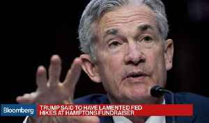 Trump Is Said to Complain Powell Has Not Been Cheap-Money Fed Chair [Video]