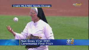 Nun Goes Viral With Ceremonial First Pitch [Video]