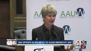 New initiative to help close the gender pay gap in the KC region [Video]