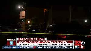 One dead after officer involved shooting [Video]