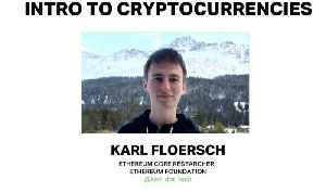 Intro to Cryptoeconomics by Karl Floersch (Ethereum Foundation) at Ethereum Meetup 2018 [Video]