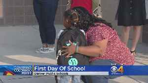 Back To Class For Denver Public Schools Students [Video]