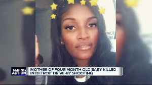 Detroit family asks for peace after child's mother killed in drive-by [Video]