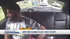 News video: Police: Man who stole cruiser not handcuffed when put in car