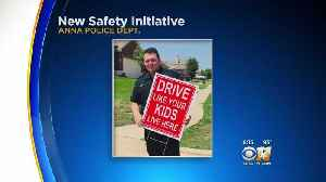 'Drive Like Your Kid Lives Here': North Texas Police Department Targets Safety Campaign At Parents