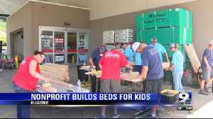 Local nonprofit partners with Lowe's to build beds for kids [Video]