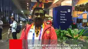Happy That Wrestling Gave India It's 1St Gold – Jagmander Singh, Coach [Video]