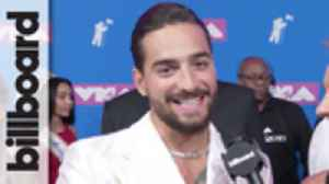 Maluma Talks Working With Shakira, Wanting to Collaborate With Shawn Mendes  | MTV VMAs 2018 [Video]