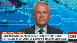 Trump Hints He May Revoke Former CIA Analyst's Clearance Citing 'Unglued' Rant on CNN [Video]