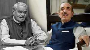 Ghulam Nabi Azad ने Atal Bihari Vajpayee Prayer Meet में जो कहा &#x9 [Video]