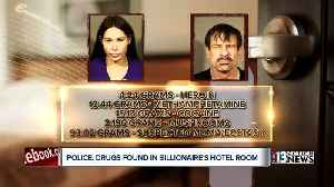 Police: 128 grams of drugs found in Las Vegas hotel room with tech billionaire [Video]