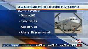 Allegiant Air is adding new Punta Gorda routes [Video]