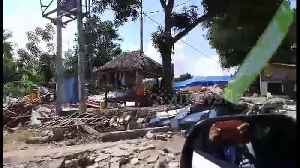 Scenes of devastation in Lombok following 7.0-magnitude earthquake and multiple aftershocks [Video]