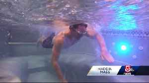 Made in Mass.: These pools take swimming in a different direction [Video]
