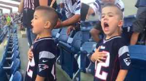 Little Boy Sings Along to National Anthem at New England Patriots Game [Video]