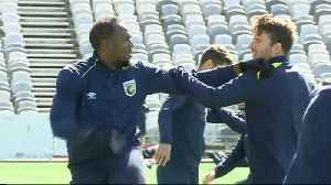 Bolt trains with Mariners, ready to 'prove people wrong' in soccer mission [Video]