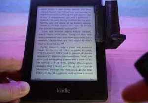 Genius Remote-Controlled Machine Turns Kindle Pages [Video]
